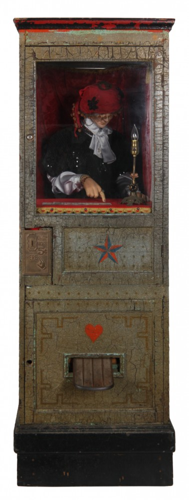 This Princess Doraldina coin-op fortune teller machine, made circa 1928 by Michael Munves, is expected to the lead the upcoming Fontaine's Auction Gallery, set for Sept. 13. It carries a $12,000 to $15,000 presale estimate.