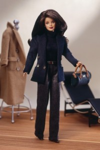 Barbie in a Ralph Lauren outfit from 1996.