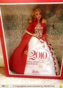 How many Holiday Barbies are enough. When several collectible dolls are produced every year, when is too many too much?