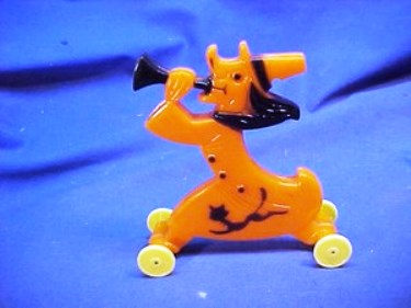 This plastic Rosbro witch whistle from the 1960s was up for auction on eBay with a current high bid of $425.