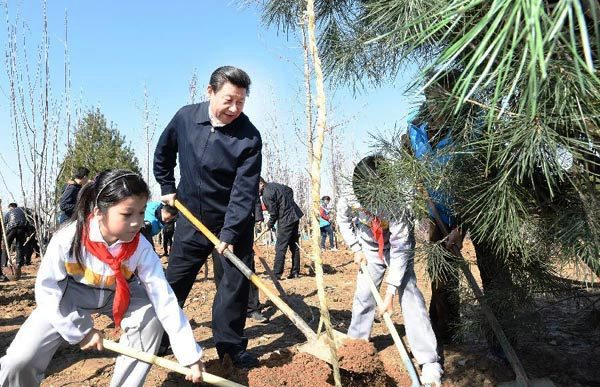 "General Secretary of the Communist Party of China Xi Jinping, ""getting in touch with its cultural roots."""